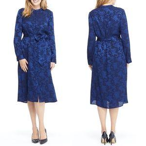 GAL MEETS GLAM Frances Empress Damask Shirtdress 8